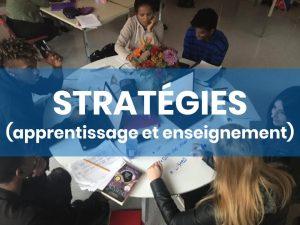 Stratégies Apprentissage et Enseignement