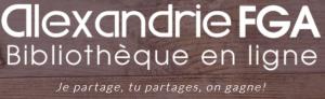 Logo Site Web Alexandrie FGA.