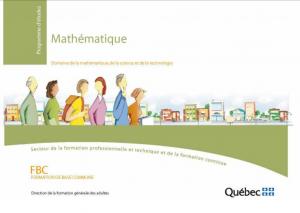 Logo du programme de mathématique en FBC