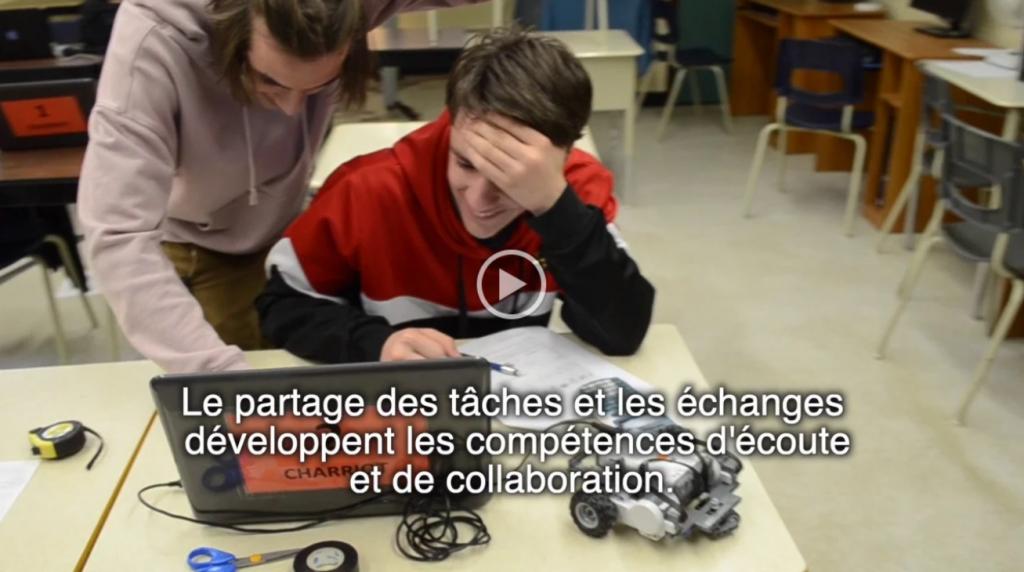Vidéo présentant le projet régional en robotique pour les mathématques dans les Laurentides. Réalisation : Jean-Félix Giguère-Groulx et Louise Roy.