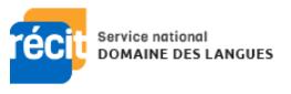 Logo RÉCIT Domaine des langues.
